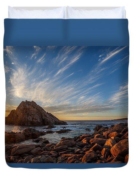 Sugarloaf Rock  Duvet Cover