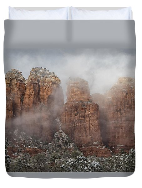 Duvet Cover featuring the photograph Sugarloaf Trail  by Tom Kelly
