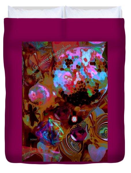 Sugarplums Duvet Cover