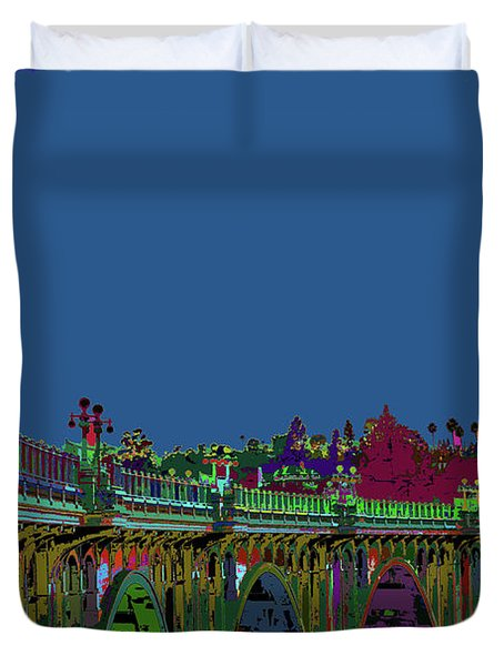 Suicide Bridge 2017 Let Us Hope To Find Hope Duvet Cover