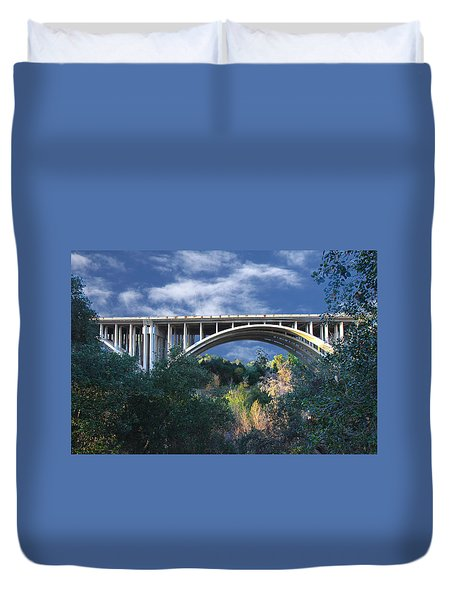 Suicide Bridge 2 Duvet Cover