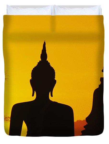 Sukhothai Temple Duvet Cover by Gloria & Richard Maschmeyer - Printscapes