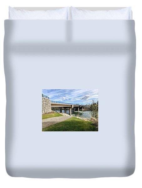 Sullivan Bridge Spokane Valley Wa Duvet Cover