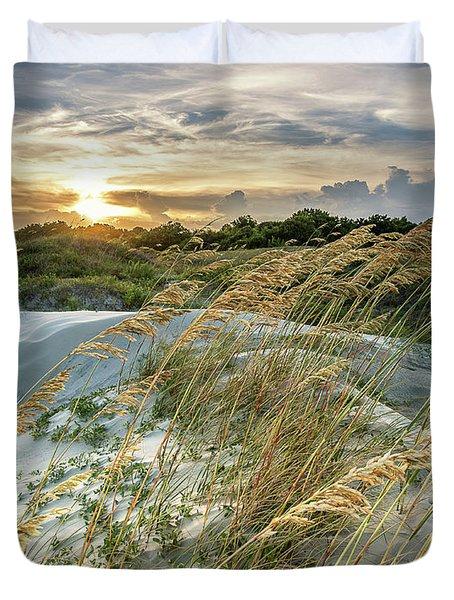 Sullivan's Island Dunes Duvet Cover