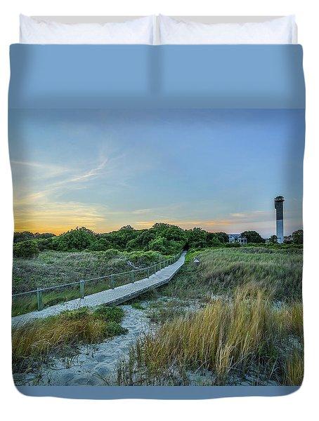 Sullivan's Island Evening Duvet Cover