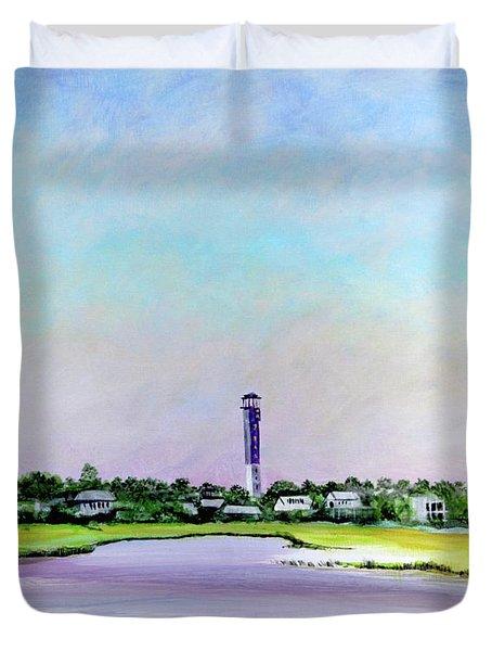 Sullivans Island Lighthouse Duvet Cover