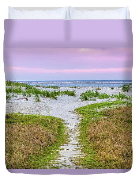 Sullivan's Island Natural Beauty Duvet Cover