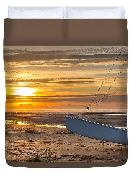 Sullivan's Island Sunrise Duvet Cover