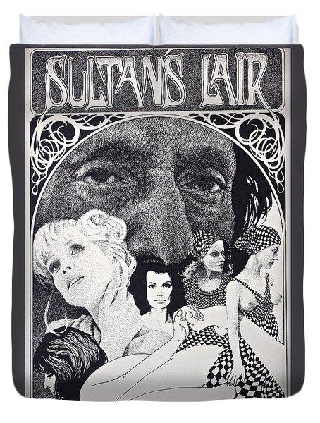 Sultan's Lair Duvet Cover