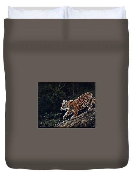 Sumatran Cub Duvet Cover