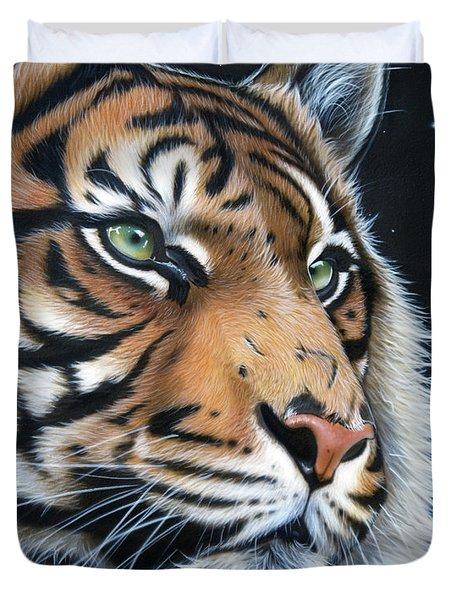 Sumatran  Duvet Cover