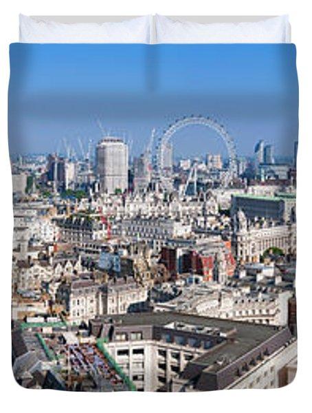 Sumer Panorama Of London Duvet Cover