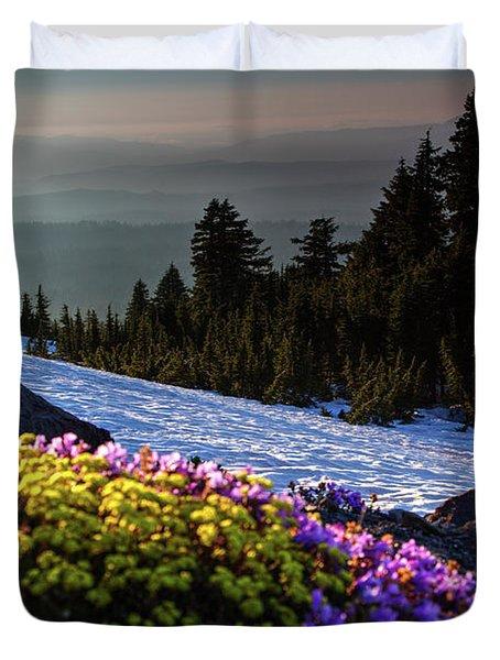 Summer And Winter Duvet Cover