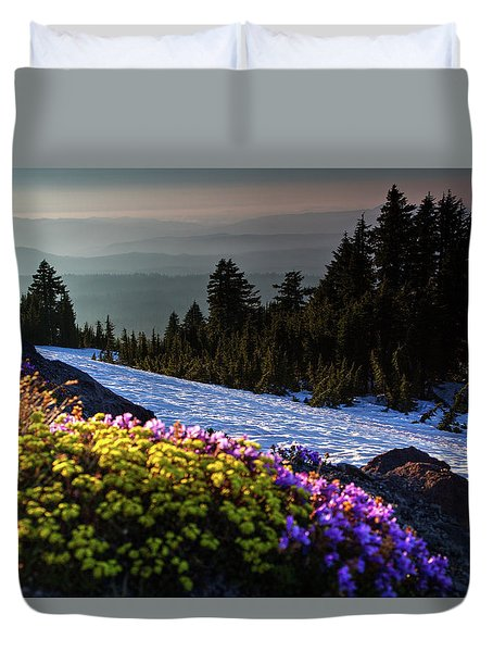 Summer And Winter Duvet Cover