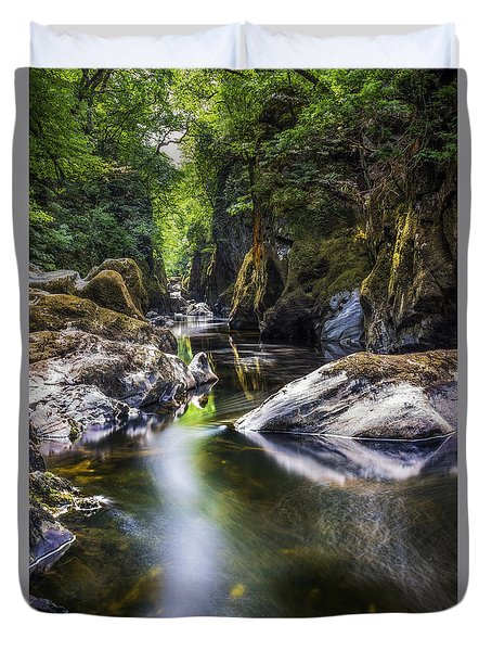 Summer At Fairy Glen Duvet Cover