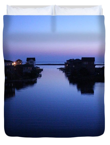 Summer Avon Evening Duvet Cover by Tony Cooper