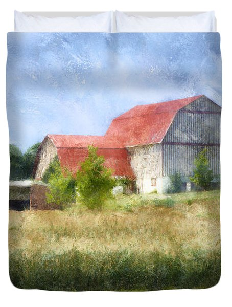 Summer Barn Duvet Cover by Francesa Miller