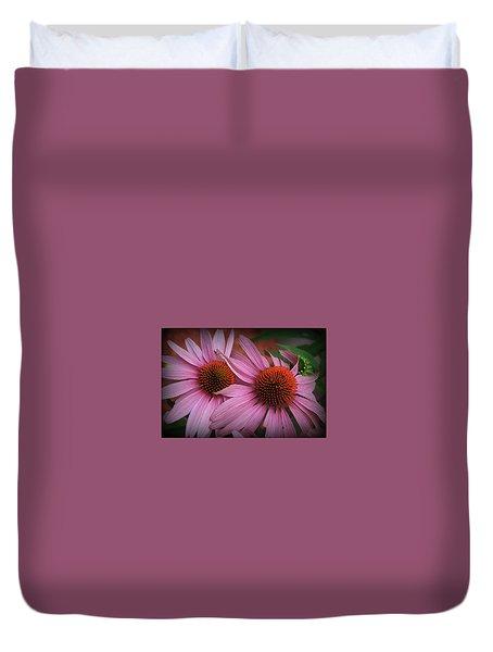 Summer Beauties - Coneflowers Duvet Cover
