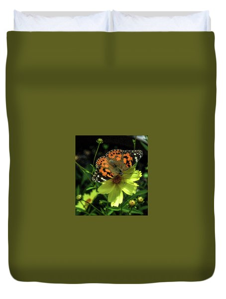 Duvet Cover featuring the photograph Summer Beauty by Bruce Carpenter