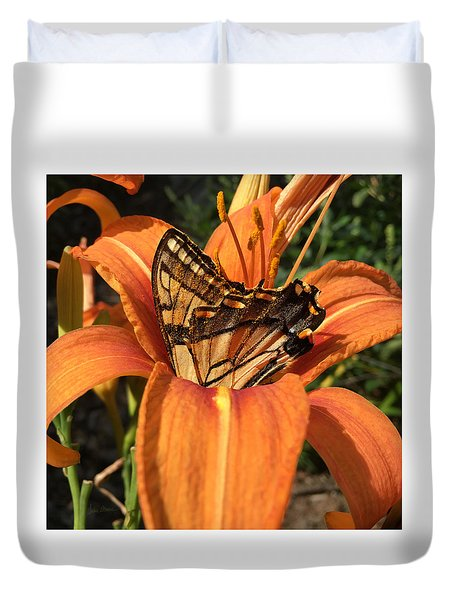 Summer Beauty Duvet Cover