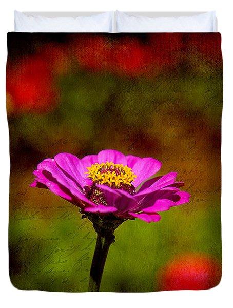Summer Beauty Duvet Cover