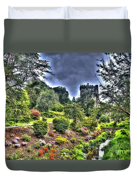 Summer Blarney Garden Duvet Cover