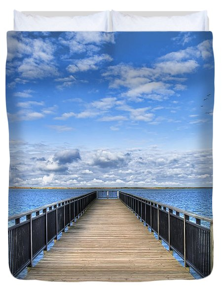 Summer Bliss Duvet Cover by Tammy Wetzel