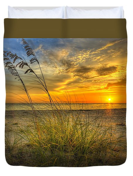 Summer Breezes Duvet Cover