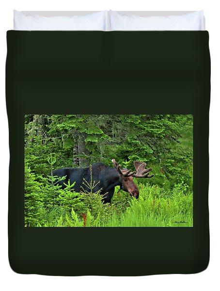 Summer Bull Duvet Cover