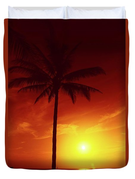 Summer By The Sea Duvet Cover