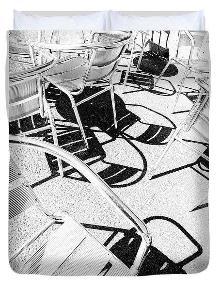 Summer Chair Pattern Duvet Cover