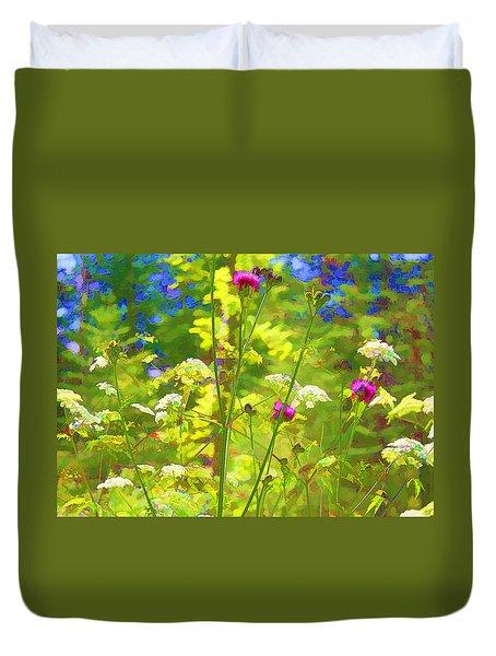 Summer Colors Duvet Cover by Susan Crossman Buscho