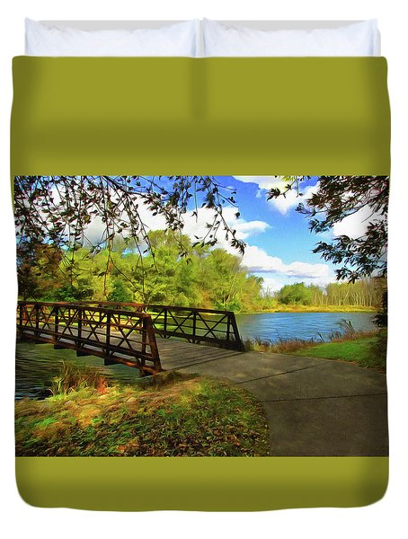 Summer Crossing Duvet Cover