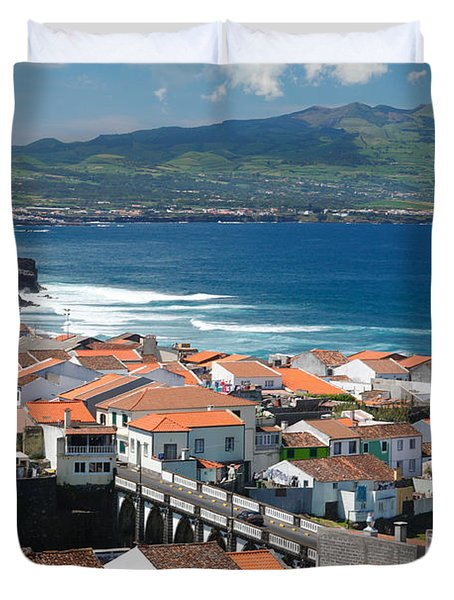 Summer Day In Sao Miguel Duvet Cover by Gaspar Avila