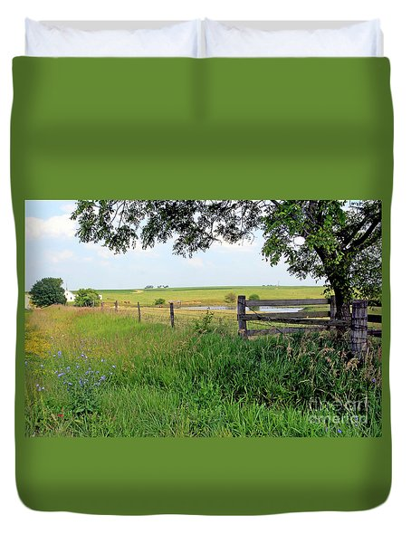 Summer Day Duvet Cover