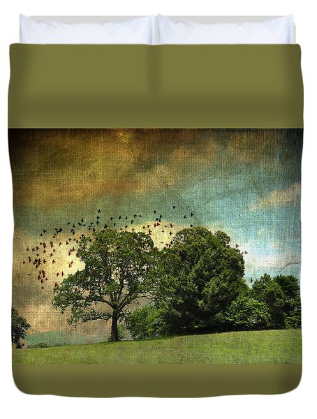 Summer Days In Sautee Duvet Cover