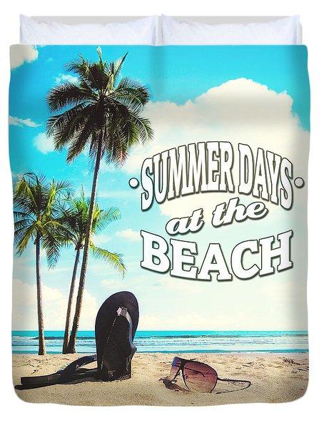 Summer Days Duvet Cover
