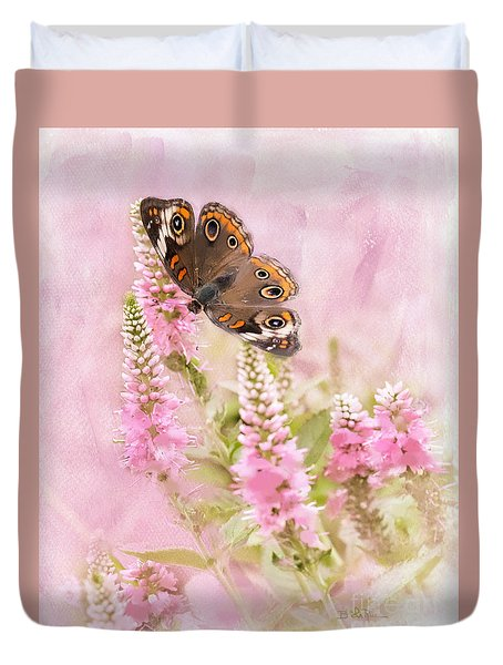 Duvet Cover featuring the photograph Summer Daze by Betty LaRue