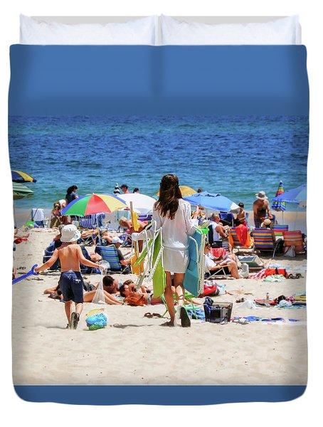 Summer Destination Duvet Cover