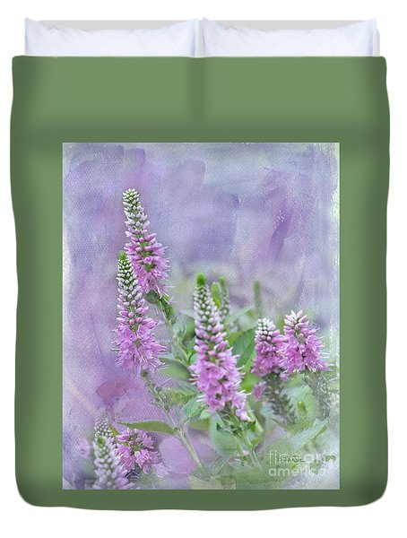 Duvet Cover featuring the photograph Summer Dreams by Betty LaRue