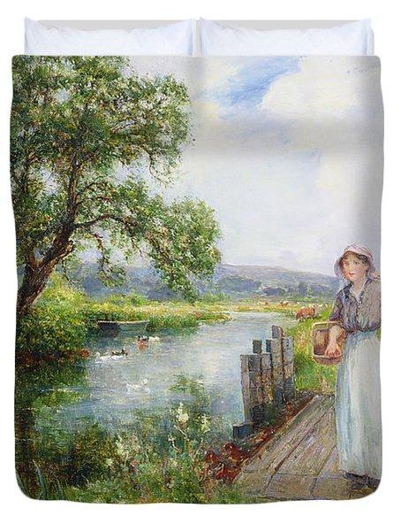 Summer Duvet Cover by Ernest Walbourn