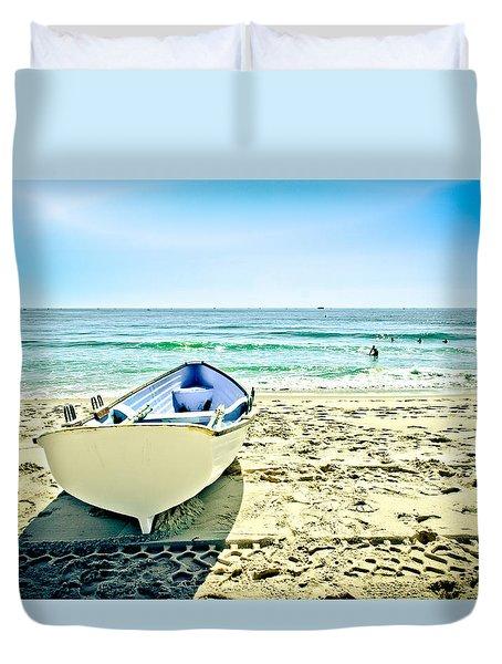 Summer Escape Duvet Cover by Colleen Kammerer