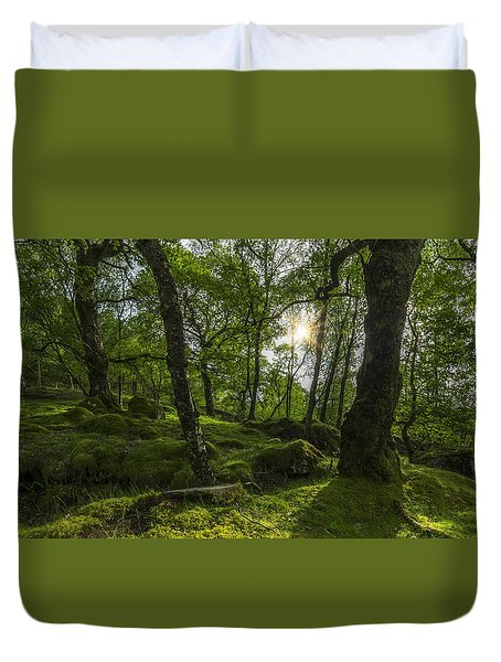 Summer Evenings In Wales Duvet Cover
