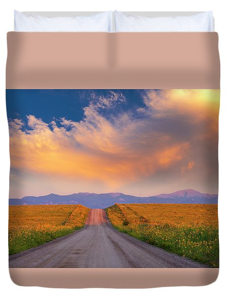 Summer Fantastic Duvet Cover