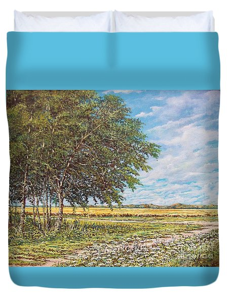 Summer Field Duvet Cover