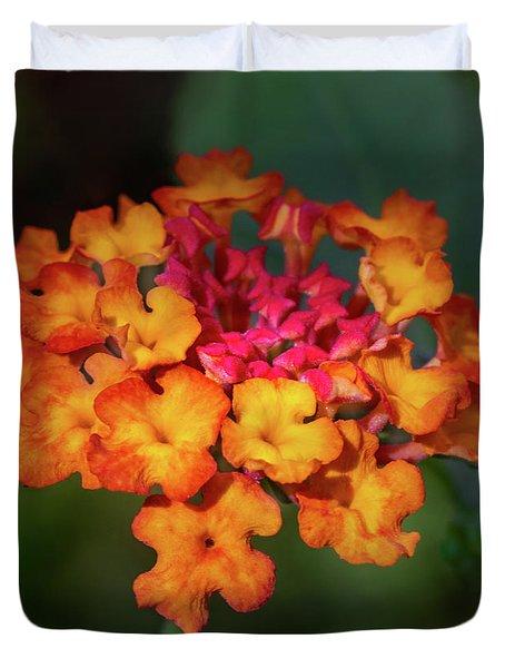 Summer Floral Colors Duvet Cover