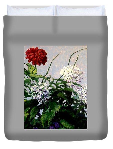 Summer Flowers 1 Duvet Cover