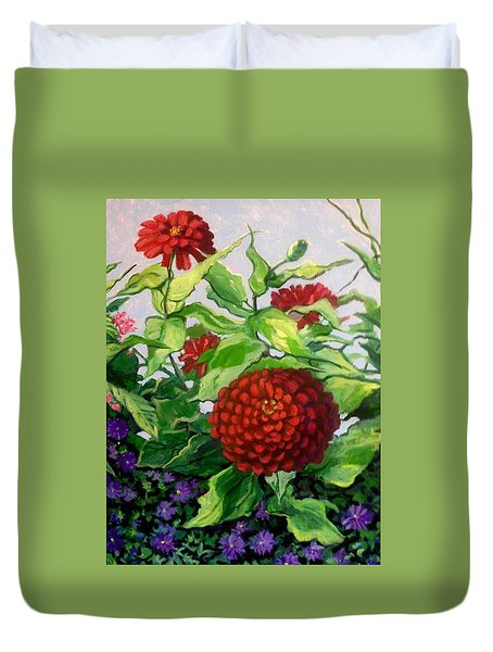 Summer Flowers 3 Duvet Cover