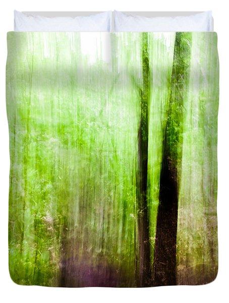 Summer Forest Duvet Cover