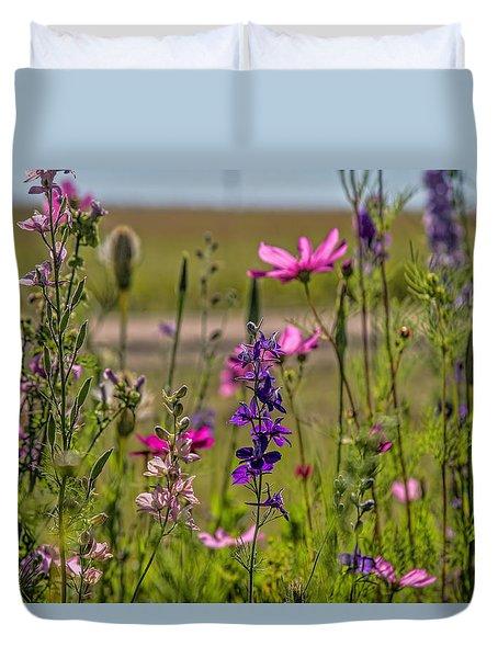 Summer Garden Duvet Cover by Alana Thrower